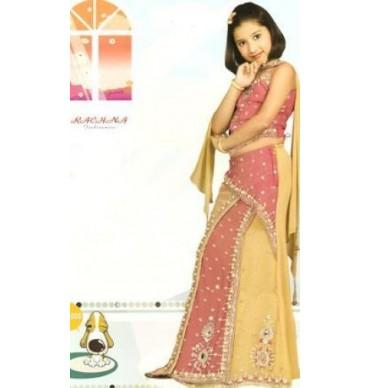 Girls 1008 Choli Suit
