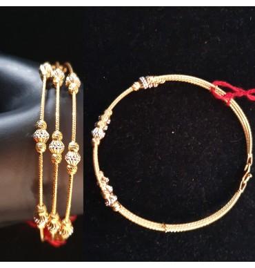 GJBN014-22ct Gold Bangle Bracelet