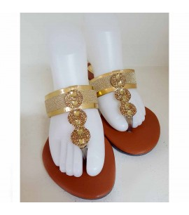 Ethnic Style Slipper Shoes