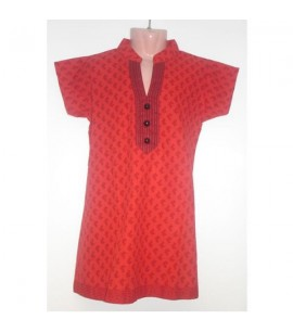 Short-Sleeve Girls Casual Top