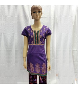 Traditional Pattern Girls Kurti