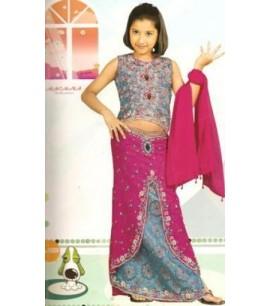 Girls 1006 Choli Suit