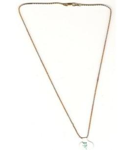 22ct Tri-Tone Bead Chain