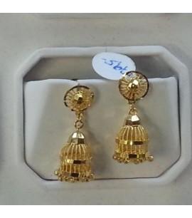 Filigree Jhumka Earrings