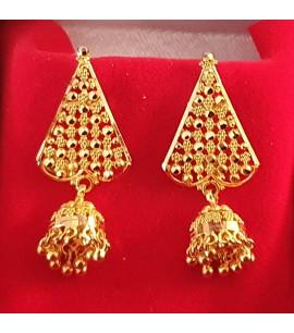 GJED020-Fancy Earrings with Jhumki