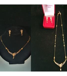 GJM017-Mangalsutra Necklace