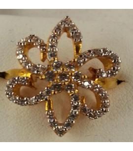 Ladies designer Ring with CZs
