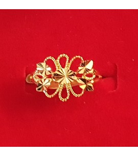 GJR047-22ct Gold fancy filigree Ring