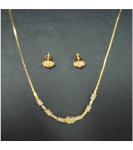 22ct Dual-Tone Bead Necklace Sets