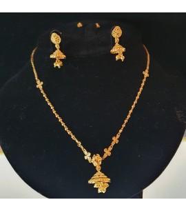 GJS022-22ct Gold Necklace set