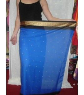 Blue Saree Sarong