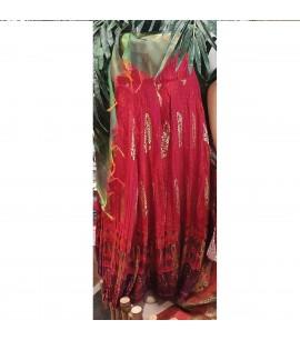 IWS019-Brocaded Skirt in Silk