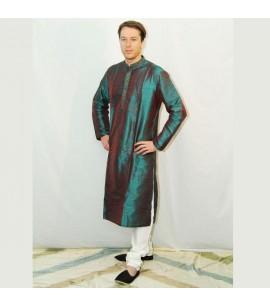 Two-tone Shimmer Sherwani