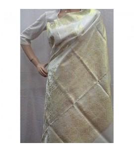 White Bridal Saree