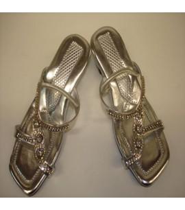 Silver Sandals for Children