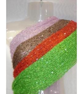 Crocheted Rayon Scarf