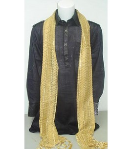Men's scarf - Gold