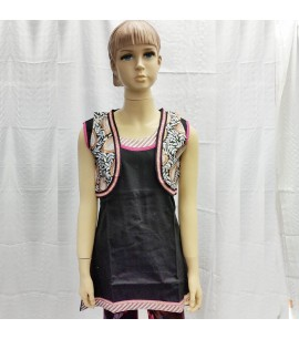 Girls Kurti with Bolero Vest