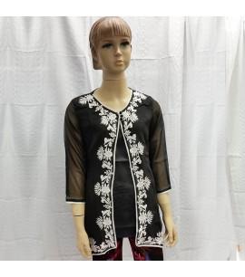 Jacket Style Girls Kurti