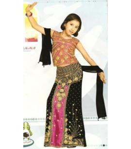 Girls 1002 Choli Suit