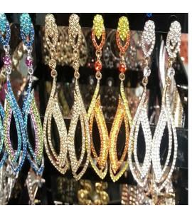 Fancy design tear-drop type Earrings