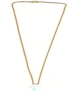 22ct Gold Light Rope Chain