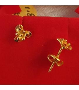 GJES027-22ct Gold Earring Studs