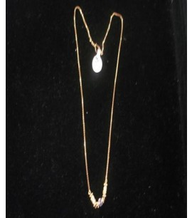 Simple Necklace with Pendant