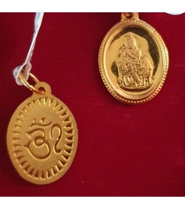 GJP031-22ct Gold Religious Pendant