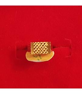 GJR033-22ct Gold Baby boy design Ring