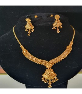 GJS016-Hand-crafted Necklace Set