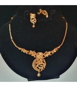 GJS023-22ct Gold Necklace set