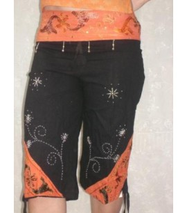 Capri Pants with Sequins