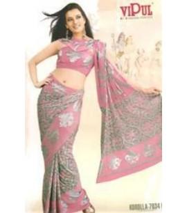 Light Pink 7634 Saree